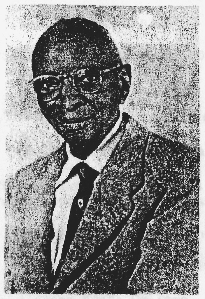 Black and white photo of Dr. Adair, one of Alabama's earliest Black physicians.